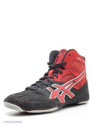 Кроссовки CAEL V6.0 ASICS. Цвет: темно-коричневый, красный