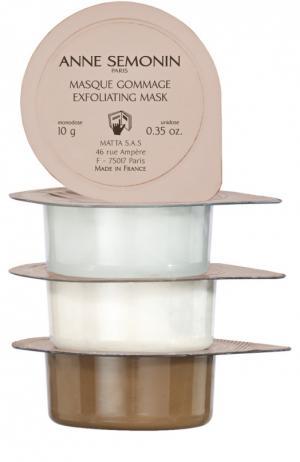 Набор масок для лица (12 штук) Anne Semonin. Цвет: бесцветный