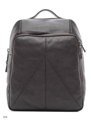 Рюкзак Gianni Conti. Цвет: темно-коричневый
