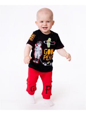 Комплект одежды VATAGA. Цвет: черный, красный