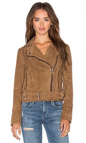 Куртка warren Muubaa. Цвет: цвет загара