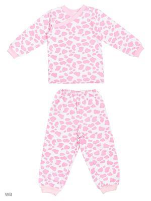 Пижамы KIDONLY. Цвет: розовый, белый