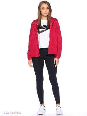 Ветровка W NSW JKT WVN Nike. Цвет: красный