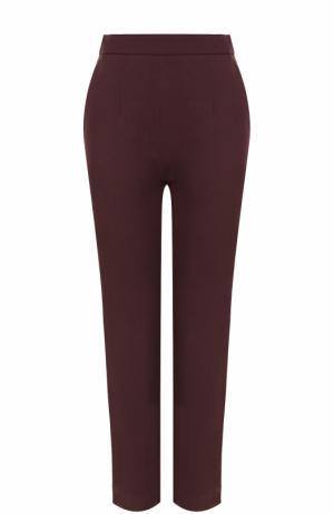Укороченные брюки прямого кроя Isa Arfen. Цвет: коричневый