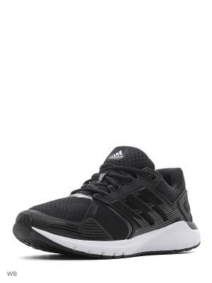 Кроссовки duramo 8 m  CBLACK/CBLACK/FTWWHT Adidas. Цвет: черный, белый