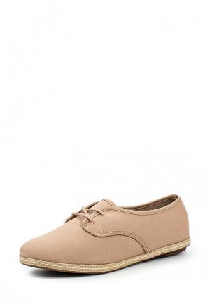 Ботинки Moleca. Цвет: бежевый