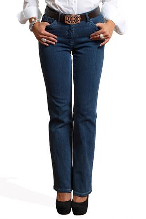 Прямые джинсы Million X Woman. Цвет: синий