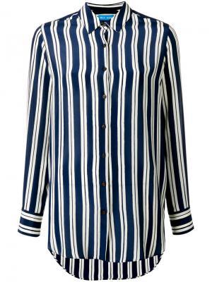Рубашка Finnish Stripe Mih Jeans. Цвет: синий