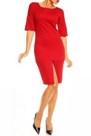 Платье Karen. Цвет: красный