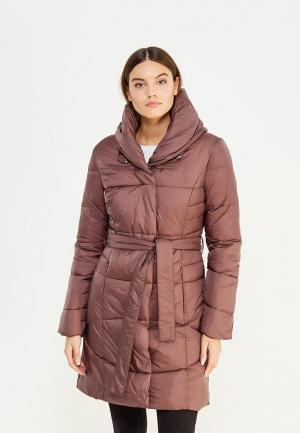 Куртка утепленная Bruebeck. Цвет: коричневый