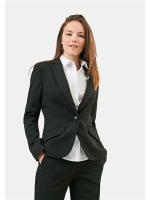 Пиджак ZARINA. Цвет: черный