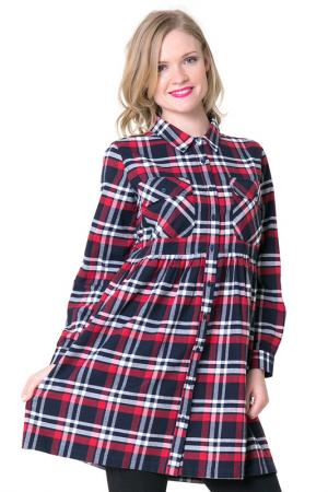 Платье BIG STAR. Цвет: red, navy, white
