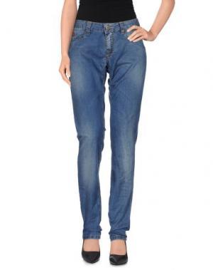 Джинсовые брюки UNLIMITED. Цвет: синий