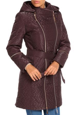 Пальто Klaris. Цвет: розовый