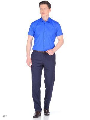 Рубашка Corleone.. Цвет: синий