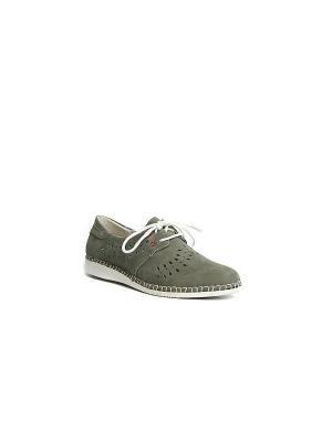 Ботинки MILANA. Цвет: хаки, серый, бронзовый