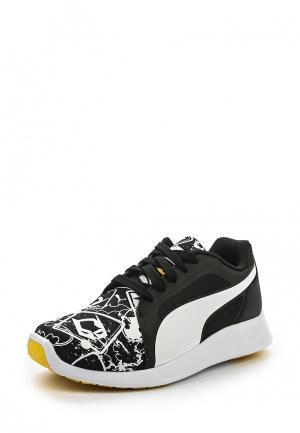 Кроссовки Puma. Цвет: черно-белый