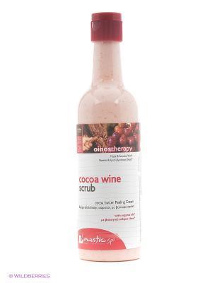 Скраб для тела увлажняющий Cocoa wine scrub Mastic Spa. Цвет: красный