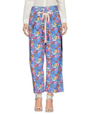 Повседневные брюки ULTRA'CHIC. Цвет: синий