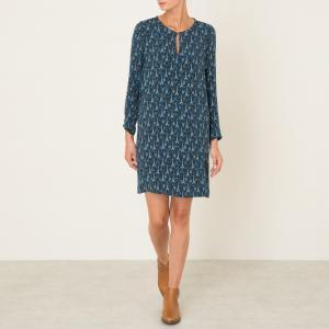 Платье ROCKER HARTFORD. Цвет: синий