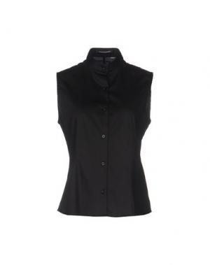 Pубашка EMISPHERE. Цвет: черный