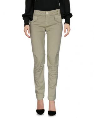 Повседневные брюки JEI O'. Цвет: зеленый-милитари