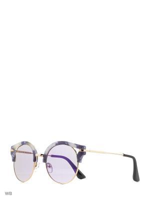 Солнцезащитные очки Vita pelle. Цвет: сиреневый