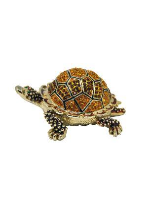 Шкатулка Черепаха Yen Ten. Цвет: коричневый, золотистый