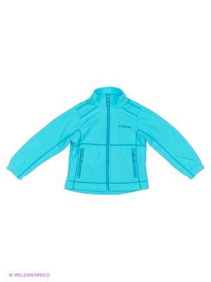 Куртка флисовая High Experience. Цвет: бирюзовый