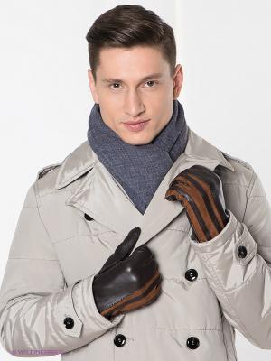 Перчатки Dali Exclusive. Цвет: темно-коричневый, коричневый
