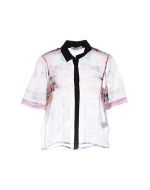 Pубашка ANGELO MARANI. Цвет: розовый