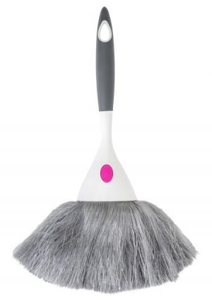 Щетка для удаления пыли Rengo VIGAR. Цвет: серый (серый/белый)
