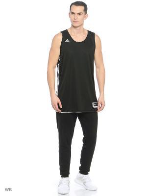 Майка Adidas. Цвет: черный, белый