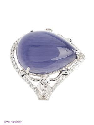 Кольцо Silver Wings. Цвет: фиолетовый, серебристый
