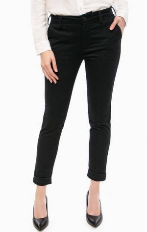 Укороченные брюки чиносы с отворотами Lee. Цвет: серый