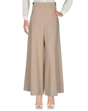 Повседневные брюки KATIA G.. Цвет: голубиный серый