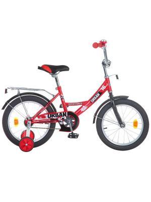 Велосипед 16 URBAN NOVATRACK. Цвет: красный