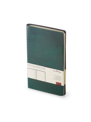 Ежедневник, а5 verona (зеленый) Bruno Visconti. Цвет: зеленый
