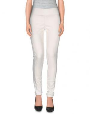 Повседневные брюки MAIOCCI. Цвет: белый