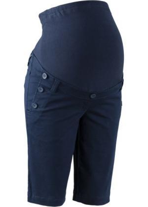 Мода для беременных: шорты (темно-синий) bonprix. Цвет: темно-синий