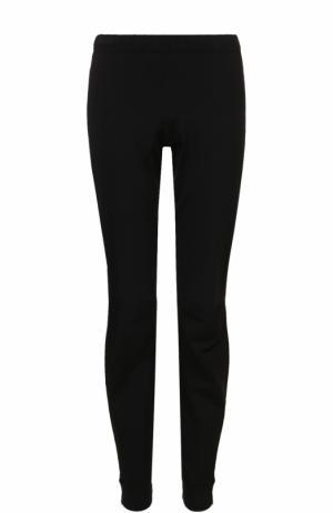 Укороченные брюки с манжетами Balenciaga. Цвет: черный