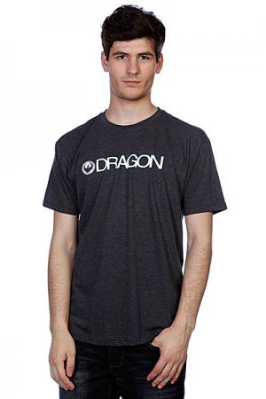 Футболка  Trademark F12 Charcoal Heather Dragon. Цвет: серый