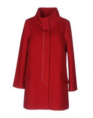 Пальто ANGELO MARANI. Цвет: красный