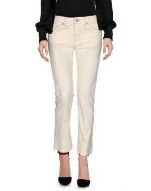 Повседневные брюки FRED PERRY. Цвет: слоновая кость
