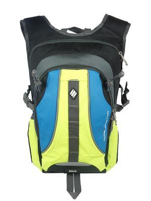 Рюкзак UFO PEOPLE. Цвет: салатовый, синий, черный
