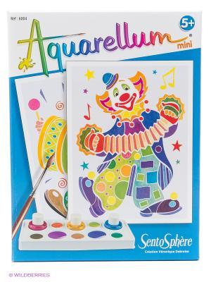 Набор акварельных красок Клоуны SENTOSPHERE. Цвет: синий