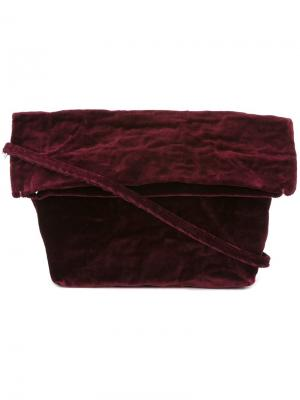 Сумка через плечо со съемной лямкой Zilla. Цвет: розовый и фиолетовый