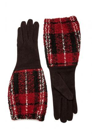 Перчатки из шерсти 173762 Moltini. Цвет: коричневый
