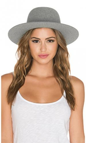 Шляпа sesam Etudes. Цвет: серый