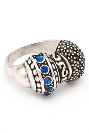 Кольцо Inesse M. Цвет: серый, синий